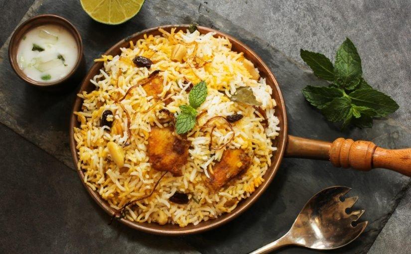 برياني لحم هندي