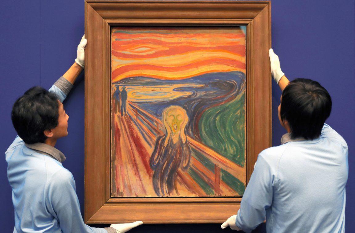 أشهر عشر لوحات فنية في العالم