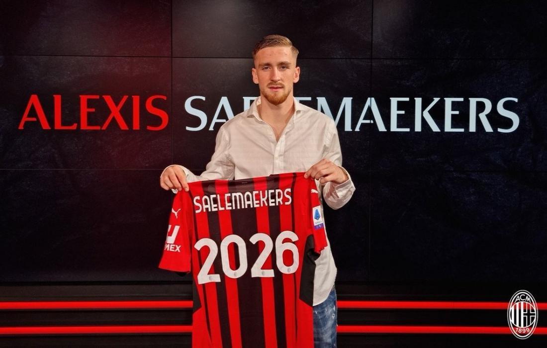 """ميلان يعلن تجديد عقد جناحه البلجيكي """"ساليمايكيرس"""""""